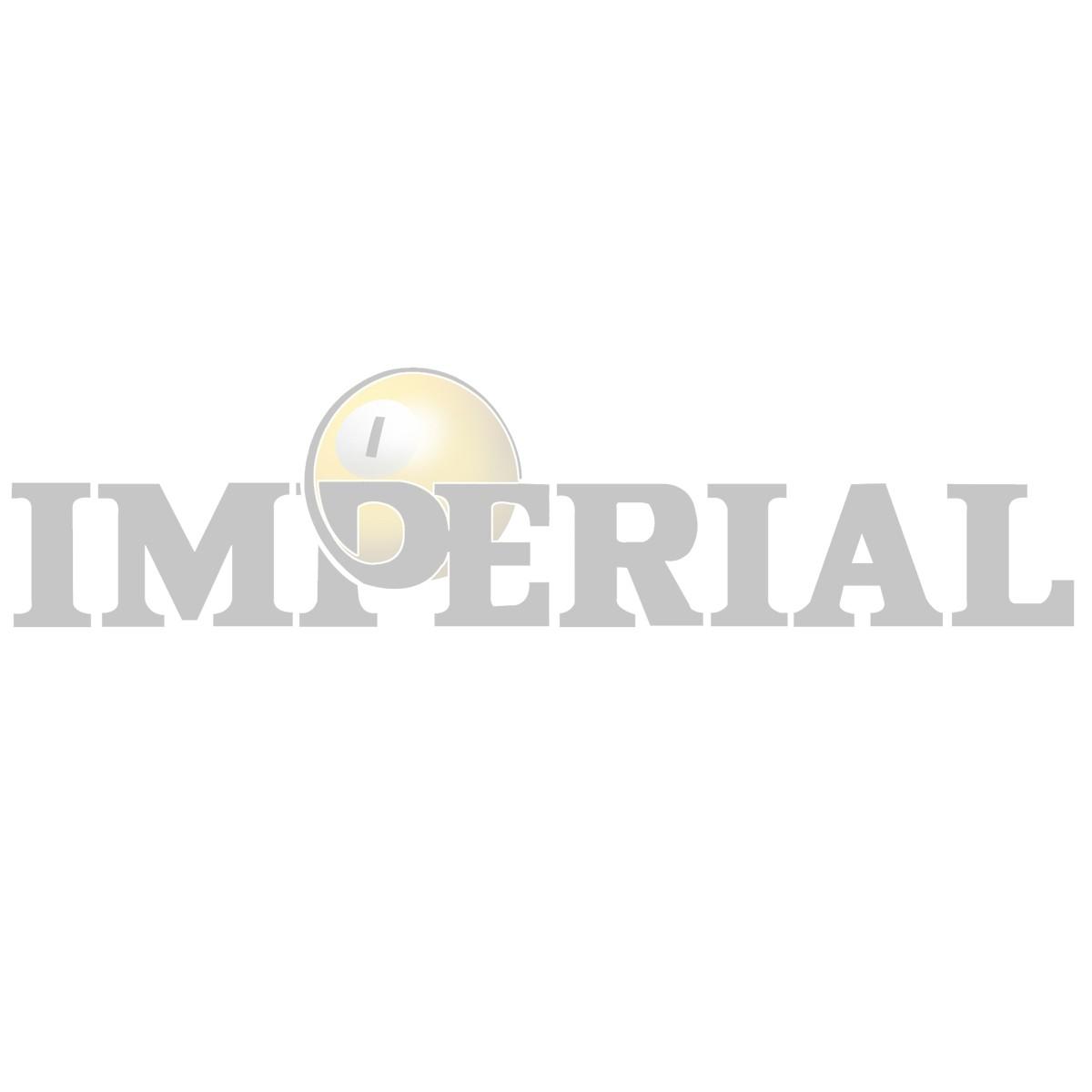 Imperial Diamond Shield Leather Drop Pocket, Set of 6 Dark Brown